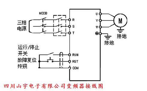 山宇变频器接线图_新闻动态_成都变频器,四川变频器